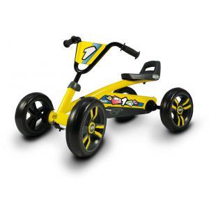 Berg - 24.30.00.00 - Kart à pédales Buzzy jaune (280072)