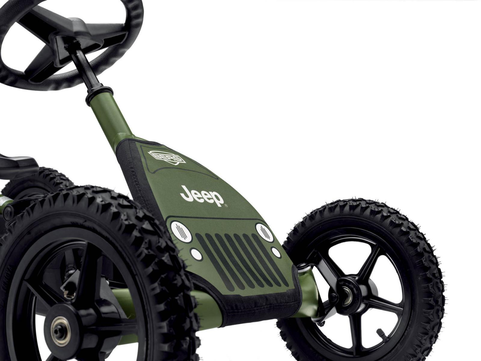 berg kart p dales jeep junior pedal go kart vert. Black Bedroom Furniture Sets. Home Design Ideas