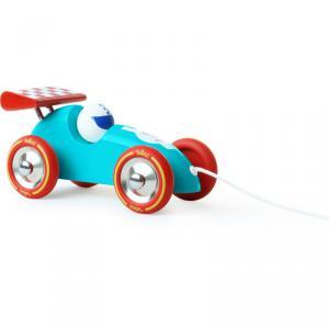 Vilac - 2309B - Voiture de course turquoise et rouge (280872)