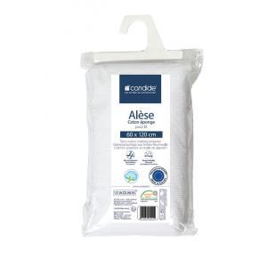 Candide - 232004 - Alèse éponge éco  60x120 cm blanc (284082)