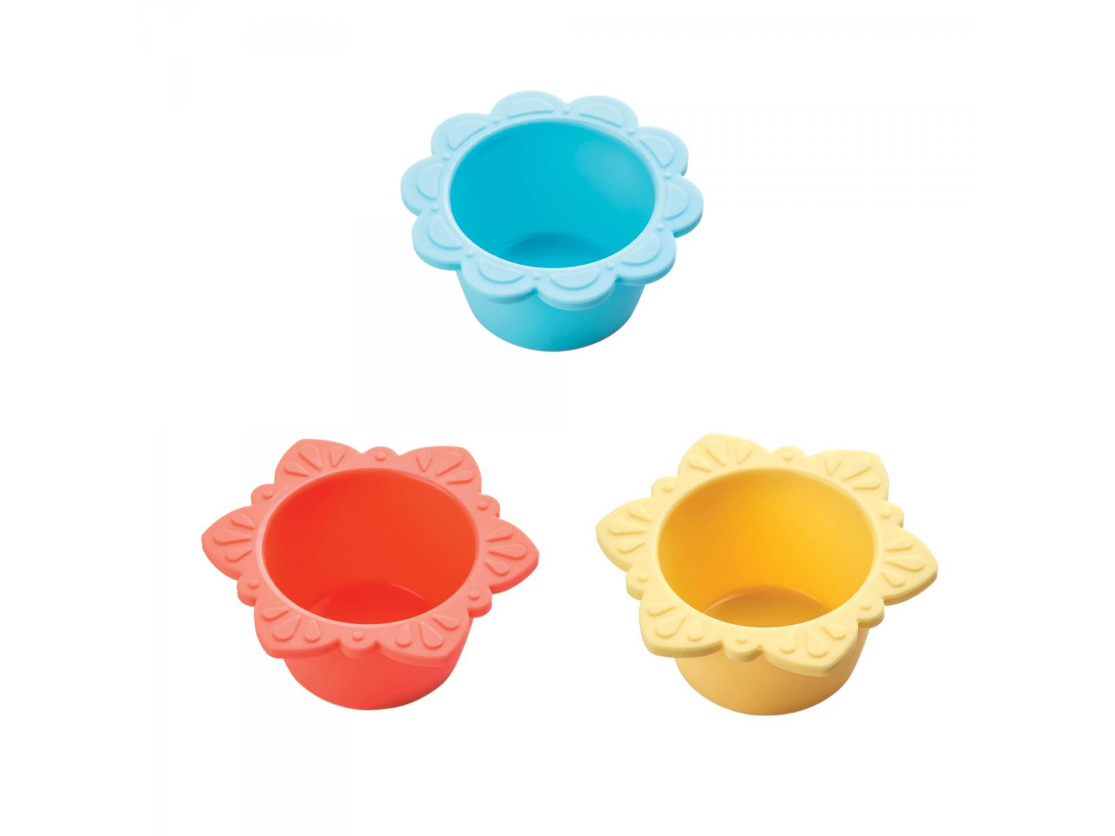 haba moules a muffins en silicone fleur en fete With affiche chambre bébé avec moule silicone fleur