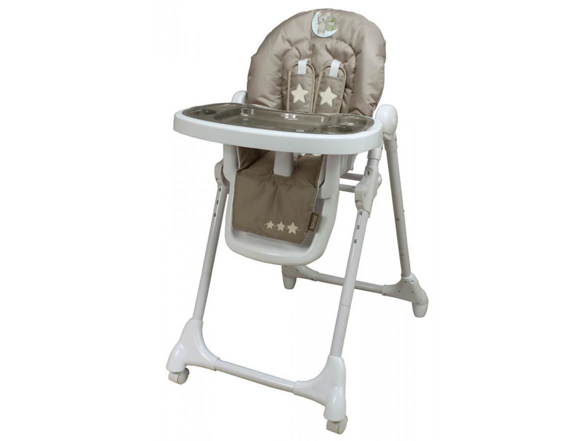 looping baby chaise haute t lescopique lune c line. Black Bedroom Furniture Sets. Home Design Ideas