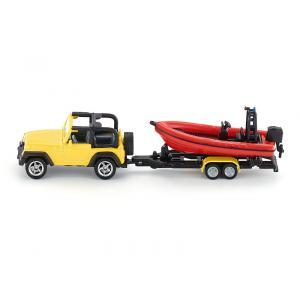 Siku - 1658 - Jeep avec bateau 196x78 mm (287170)