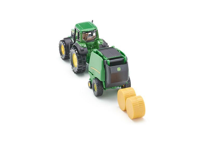 Siku Siku1665 Tracteur John Deere Avec Presse A Ballots