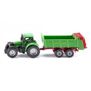 Siku - 1673 - Tracteur avec épandeur universal (287194)