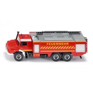 Siku - 2109 - Mercedes-Benz Zetros pompiers - 1:50ème (287304)