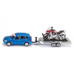 Siku - 2547 - Voiture avec remorque et motocyclette - 1:55ème (287314)