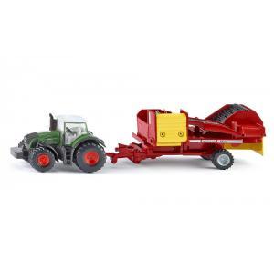 Siku - 1808 - Tracteur avec récolteuse de pommes de terre - 1:87ème (287374)