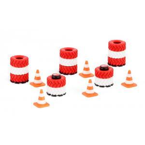 Siku - 6854 - Accessoires piles de pneus et pylônes (287570)