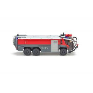 Wiking - 7421 - Camion pompiers sécurité aéroport FLF Panther 6x6 (Rosenbauer) - 1:87ème (287664)