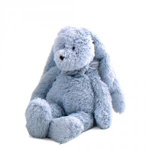 Dimpel - 883311 - Doudou lapin Flor 18 cm - bleu (287670)