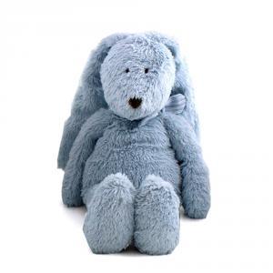 Dimpel - 883324 - Doudou lapin Flor 25 cm - bleu (287672)