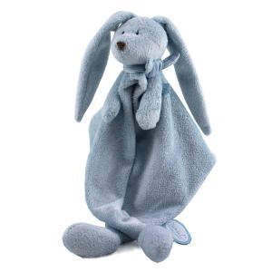 Dimpel - 883350 - Doudou lapin FLOR bleu (287676)