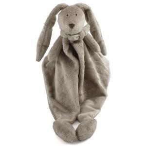 Dimpel - 883441 - Doudou lapin  Flor beige gris (287688)