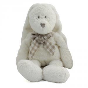 Dimpel - 883519 - Doudou lapin Flor 25 cm - blanc (287696)