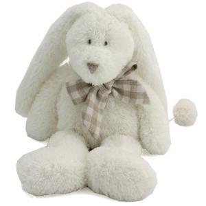 Dimpel - 883571 - Peluche lapin musical Flore blanc (287704)