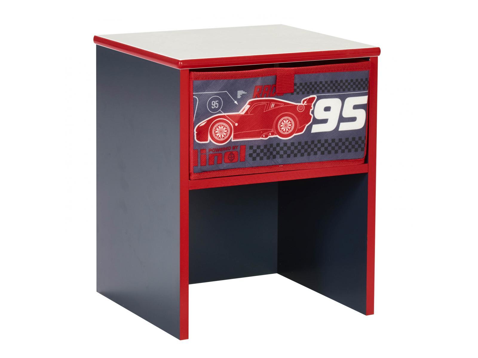Room Studio Table De Chevet Disney Cars