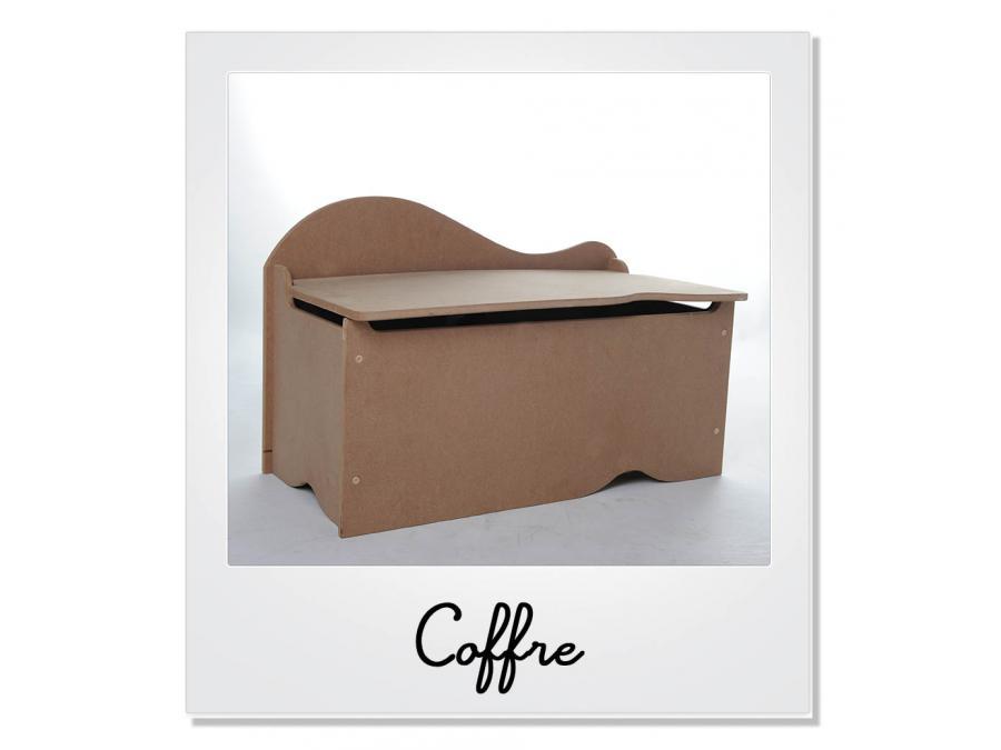 room studio coffre jouets couleur bois brut. Black Bedroom Furniture Sets. Home Design Ideas