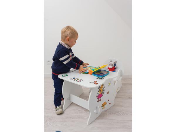 room studio ensemble mon premier fauteuil et bureau trotro. Black Bedroom Furniture Sets. Home Design Ideas