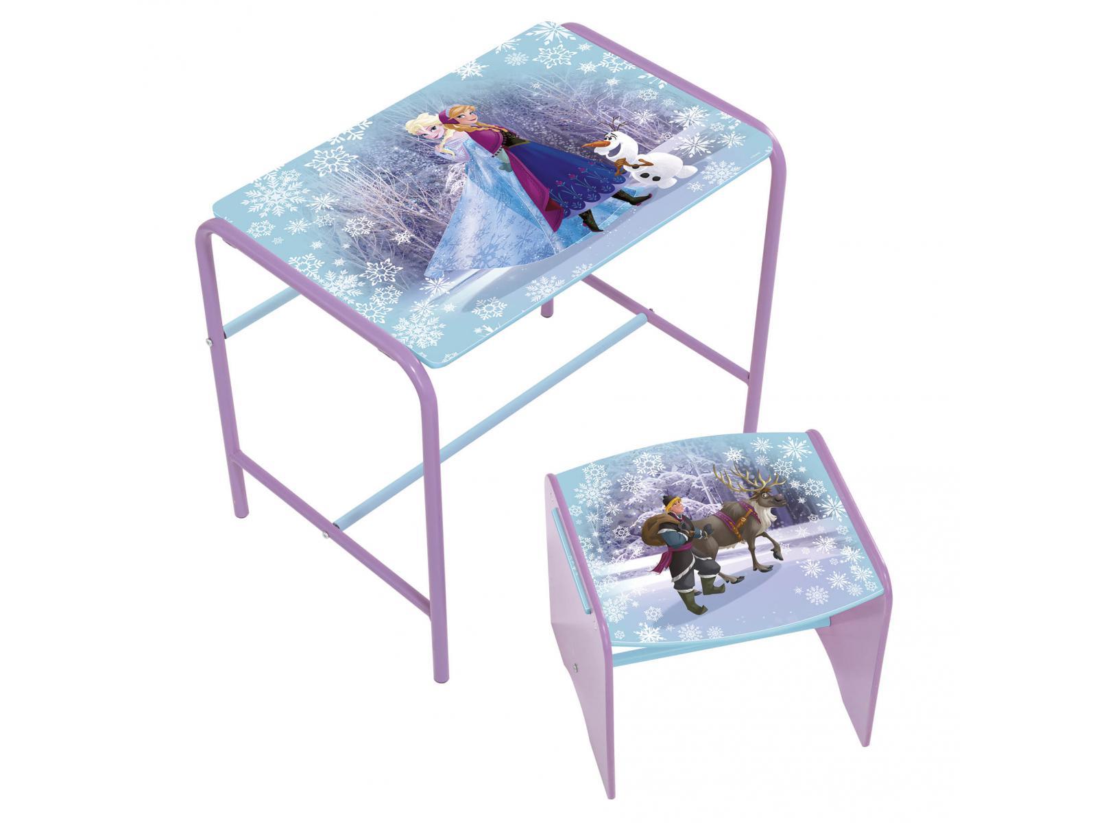 room studio bureau et tabouret premium reine des neiges. Black Bedroom Furniture Sets. Home Design Ideas