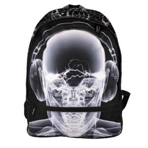 Bagguay - 142RAD703-1 - Bagguay - Sac à dos - 2 fermetures éclair x-ray earphones (293030)