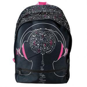 Bagguay - 142RAD703-6 - Bagguay - Sac à dos - 2 fermetures éclair pink earphones (293040)
