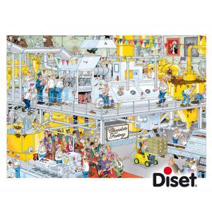 Diset - 17452 - Puzzle 1000 pièces - JVH-La Chocolaterie (293162)