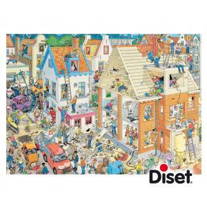 Diset - 17461 - Puzzle 1500 pièces - JVH-Le chantier (293164)