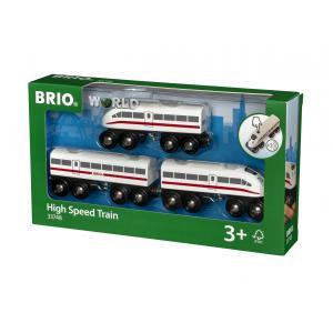 Brio - 33748 - Tgv avec son - Thème Voyageur - Age 3 ans + (293638)