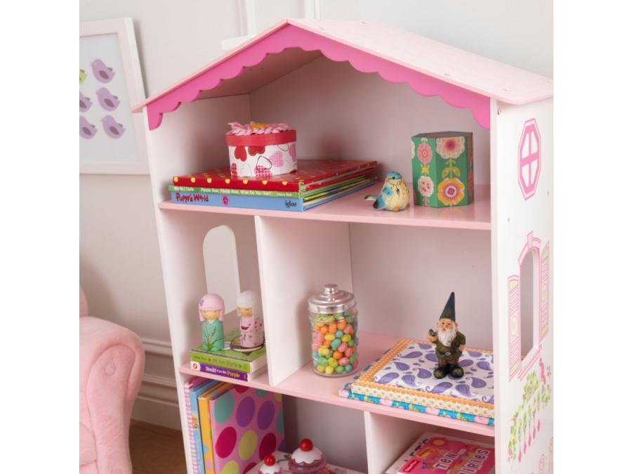 kidkraft biblioth que petite maison de poup e. Black Bedroom Furniture Sets. Home Design Ideas