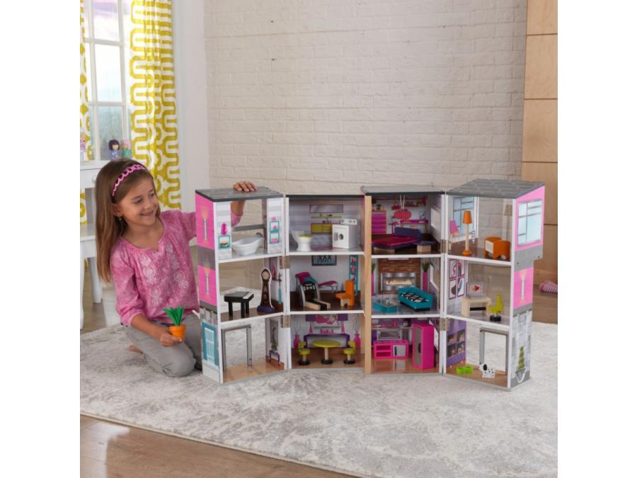 Kidkraft maisonnette de luxe contemporaine for Maison moderne kidkraft
