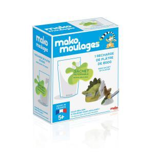 Mako moulages - 39004 - mako moulages Recharge plâtre 800g (294450)