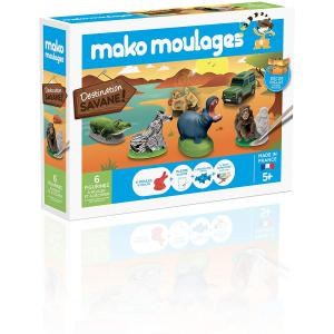 Mako moulages - 39010 - mako moulages savane Coffret 6 moules (294452)