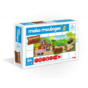 Mako moulages - 39011 - mako moulages Ferme Coffret 6 moules (294456)