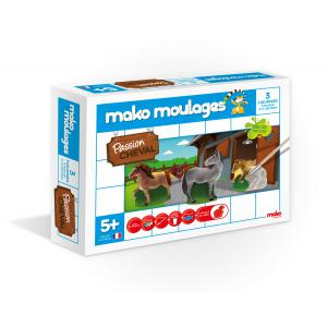 Mako moulages - 39008 - mako moulages chevaux Coffret 3 moules (294460)