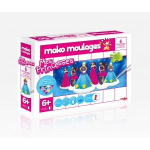 Mako moulages - 39017 - mako moulages Mes princesses Coffret 6 moules (294538)