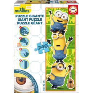 Educa - 16553 - Puzzle Minions 240 pièces Carton Décor (295320)