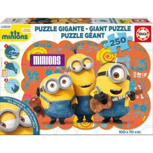 Educa - 16525 - Puzzle Minions 250 pièces Carton Géant (295324)