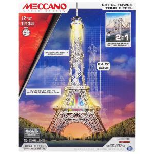Meccano - 6024900 - Tour Eiffel lumineuse Meccano (296026)