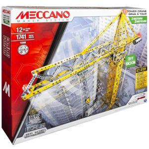 Meccano - 6024905 - Grue géante Meccano (296028)