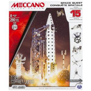 Meccano - 6026302 - Conquête spatiale - 15 modèles Meccano (296052)