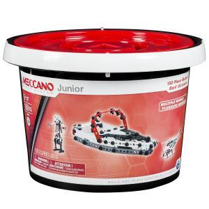 Meccano - 6026711 - Baril 150 pièces Meccano junior (296060)