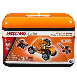 Meccano - 6026703 - Mallette niveau avancé Meccano junior (296064)
