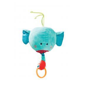 Lilliputiens - 86755 - Jouet à suspendre Albert l'éléphant dancing rond (300070)