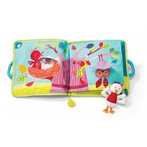 Lilliputiens - 86711 - Livre intéractif Smart Wonders Ophélie la poule dans la forêt (300176)