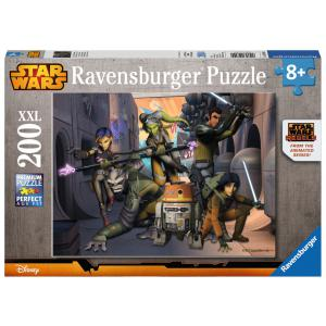 Ravensburger - 12809 - Puzzles 200 pièces XXL La rebellion commence / Star Wars Rebels (300204)