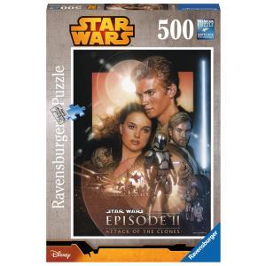 Ravensburger - 14666 - Puzzles 500 pièces L'attaque des clones / Star Wars (300210)