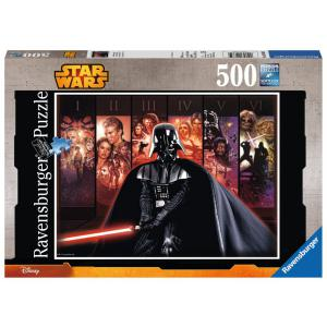 Ravensburger - 14665 - Puzzle 500 pièces - La saga Star Wars / Star Wars (300212)