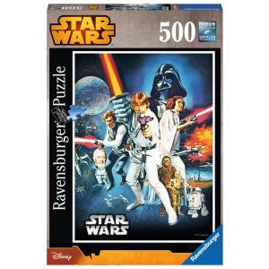 Ravensburger - 14662 - Puzzles 500 pièces La guerre des étoiles / Star Wars (300214)
