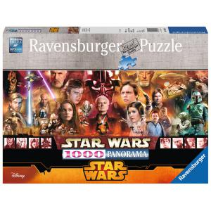 Ravensburger - 15067 - Puzzles 1000 pièces La légende star wars - Panorama / Star Wars (300220)